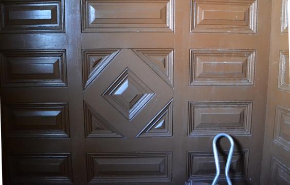 Wood Detailing at Entry