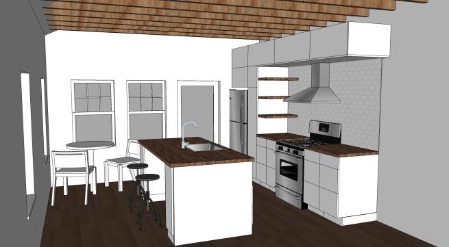 kitchen option 1
