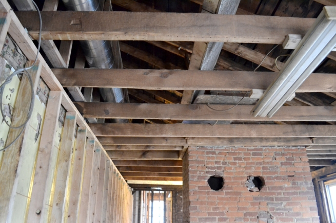 second floor joists